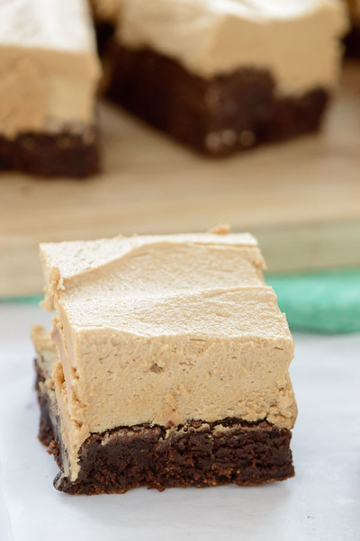 Chocolate Fudge Brownies with Cookie Butter Frosting ...