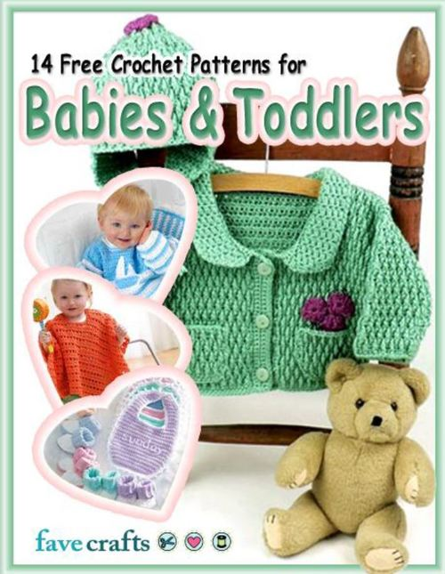 14 Free Crochet Patterns for Babies  Toddlers