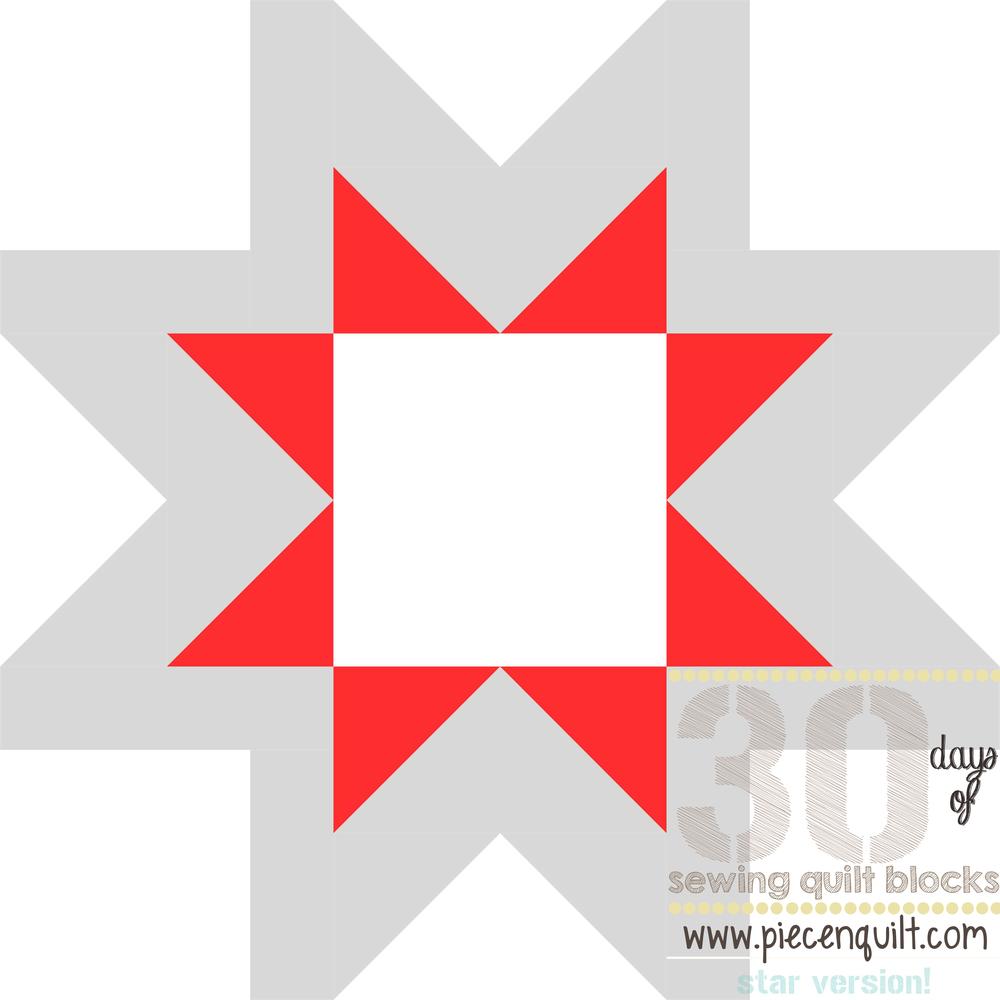 Morning Star Quilt Block Favequilts Com