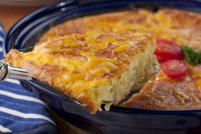 Macaroni and Cheese Pie