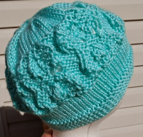 Quick Knit Spring Hat AllFreeKnitting.com