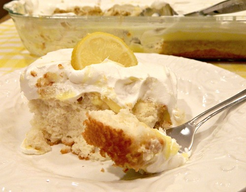 Recipe Cake Mix Lemon Pudding: Cinnamon Roll Poke Cake Recipe