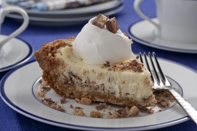 Tasty Toffee Cheesecake