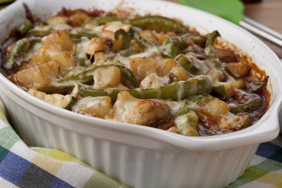 Vegetable Cheese Bake