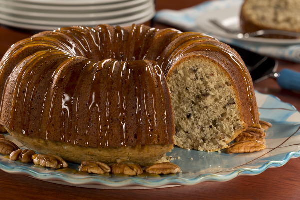 Caramel Nut Cake Mrfood Com