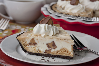 Secret Peanut Butter Cup Pie