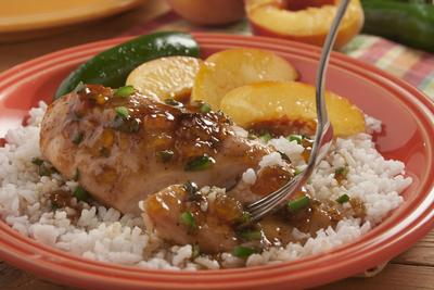 Jalapeno Peach Chicken