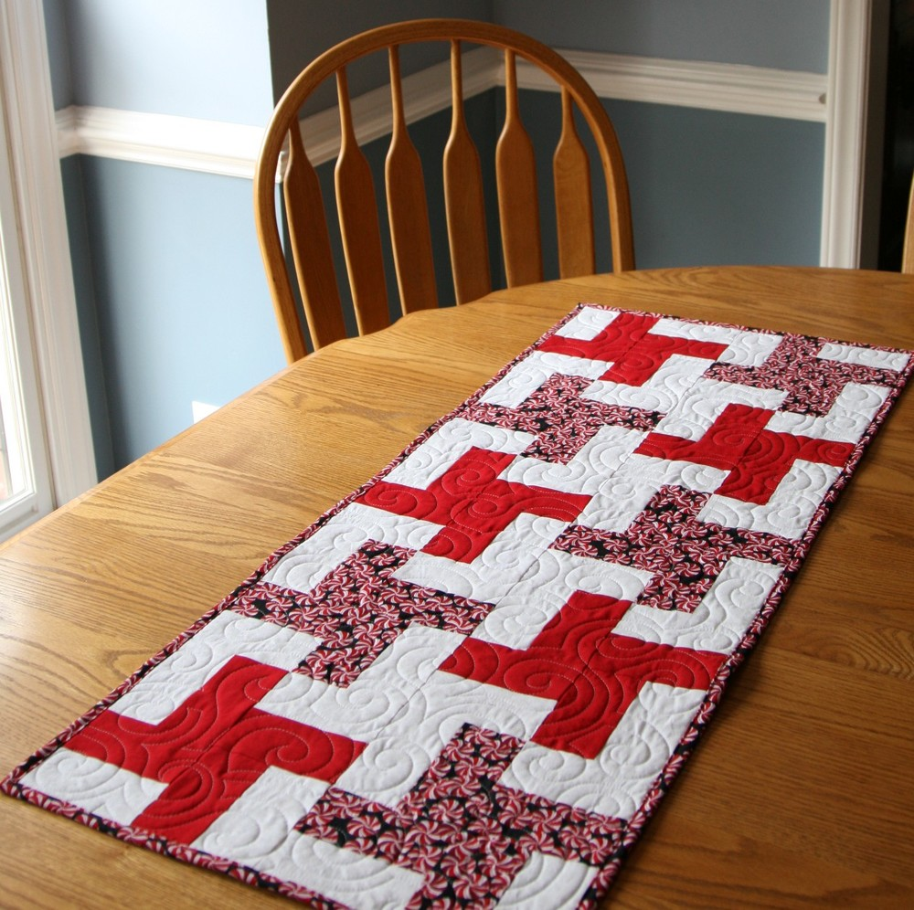 Quilted Christmas Placemats