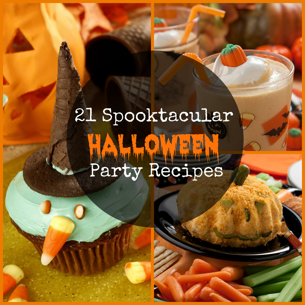 easy halloween party recipes halloween party food ideas mrfoodcom - Halloween Party Recipies