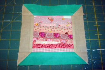 String Spool Quilt Block
