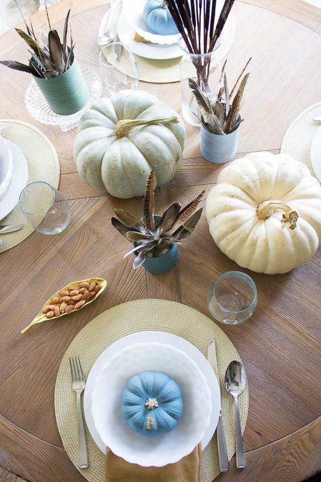 Vintage Thanksgiving Table Setting Ideas