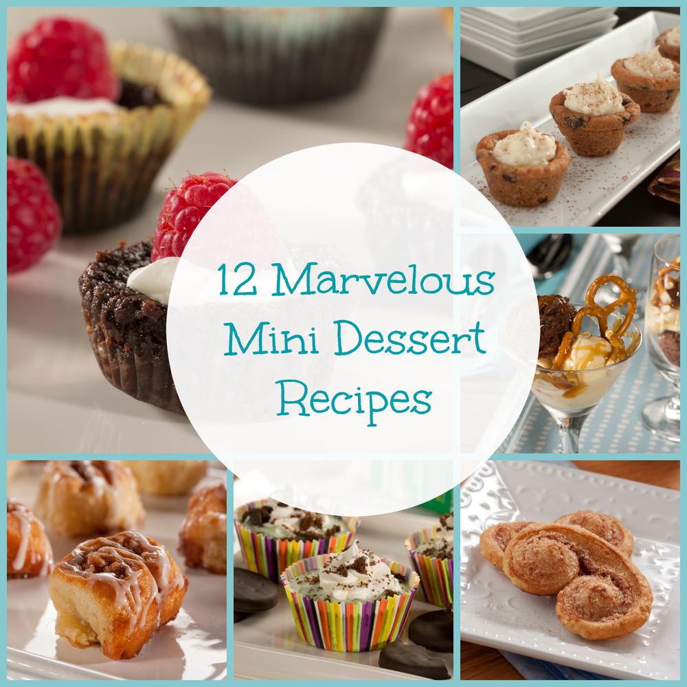 12 Marvelous Mini Dessert Recipes Mrfood Com