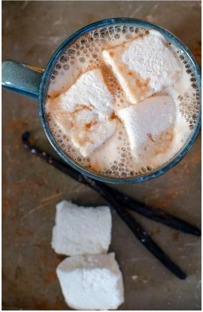 Maple Homemade Hot Cocoa | AllFreeHolidayCrafts.com