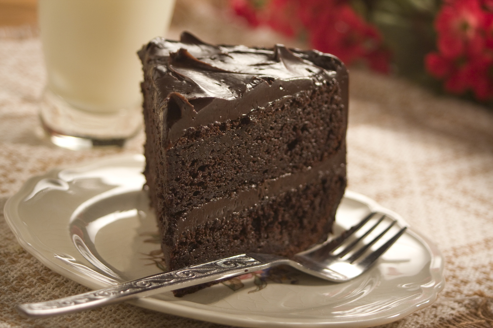 Old Fashioned Southern Chocolate Cake Mrfood Com