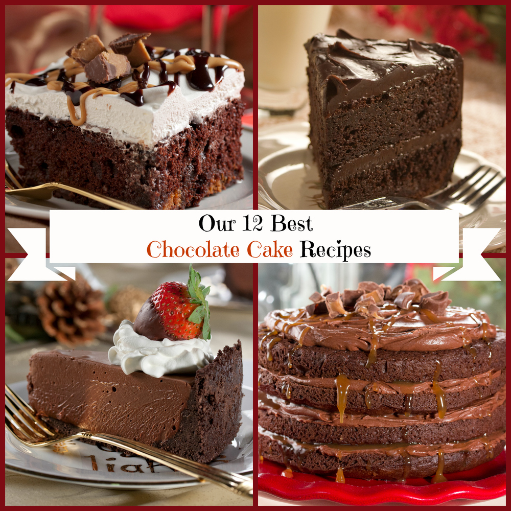 Best Cake Recipes Pictures : Our 12 Best Chocolate Cake Recipes MrFood.com