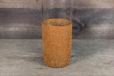 Glitter Vase Mod Podge Crafts