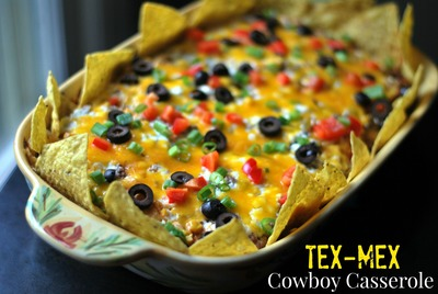 "Tex-Mex ""Cowboy"" Casserole | AllFreeCasseroleRecipes.com"