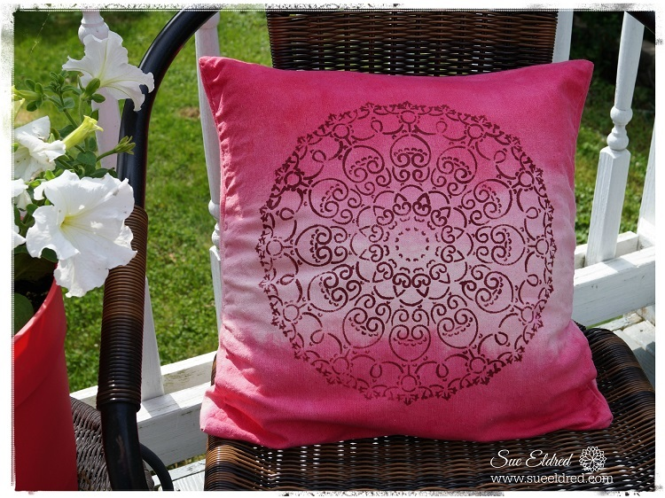 Dye Outdoor Cushions