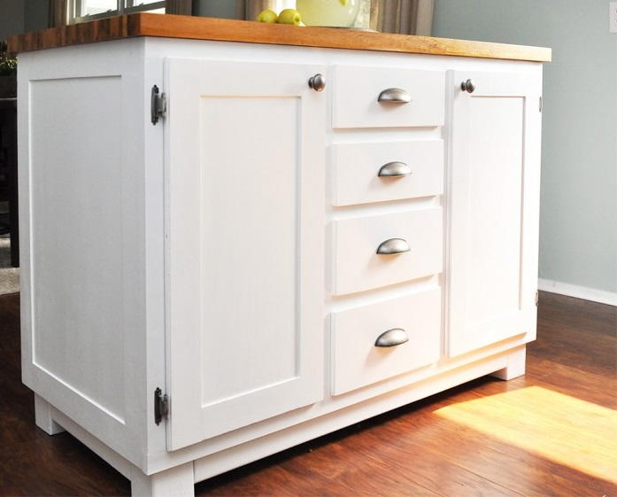 Diy Kitchen Island Diyideacenter Com