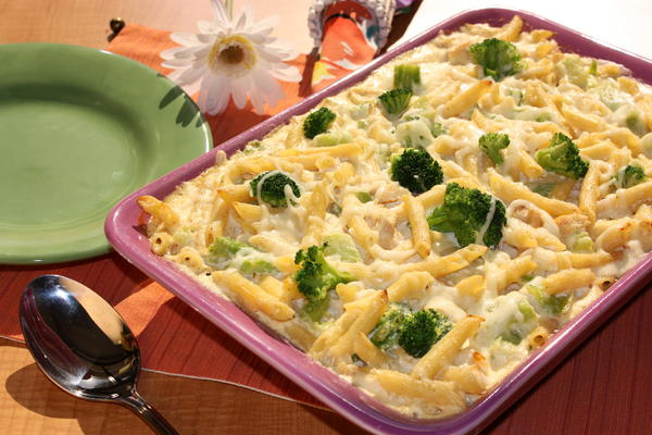 Simple recipe for chicken pasta bake