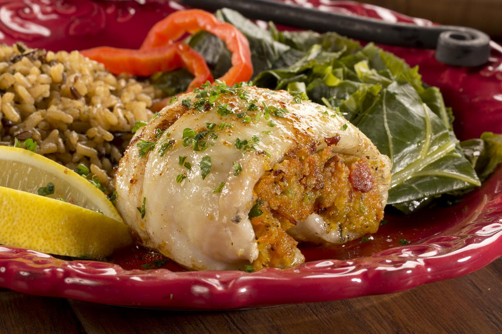 Catfish with bacon stuffing for Fishing with bacon