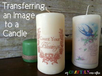 Candle Image Transfer
