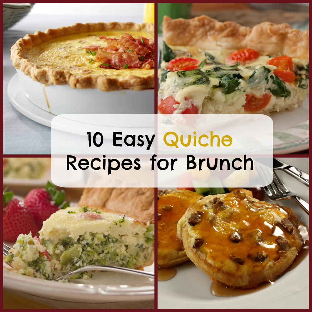 10 Easy Quiche Recipes For Brunch