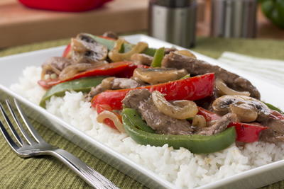 Smothered Beef and Peppers