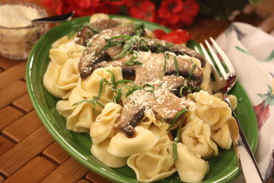Pasta-with-Mushrooms