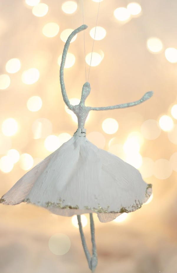 Ballerina Diy Christmas Ornament Allfreechristmascrafts Com
