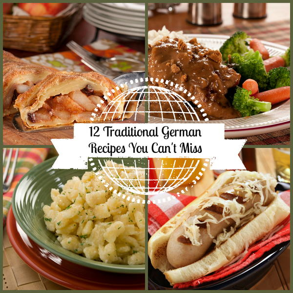 12 traditional german recipes you can 39 t miss for Authentic german cuisine