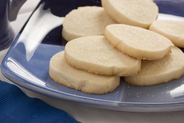 Recipe and sugar cookies