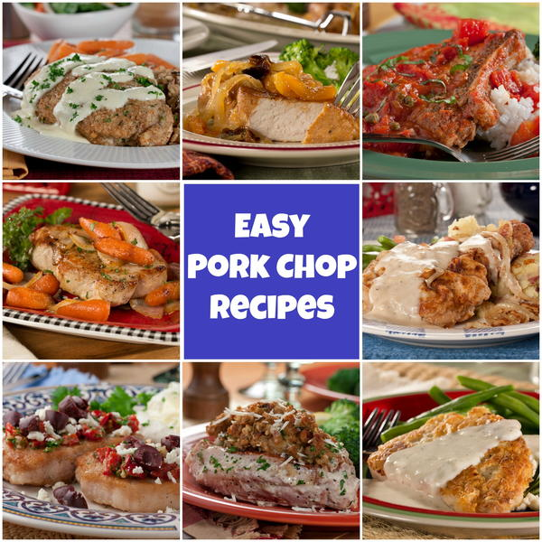 Food tv pork chop recipes