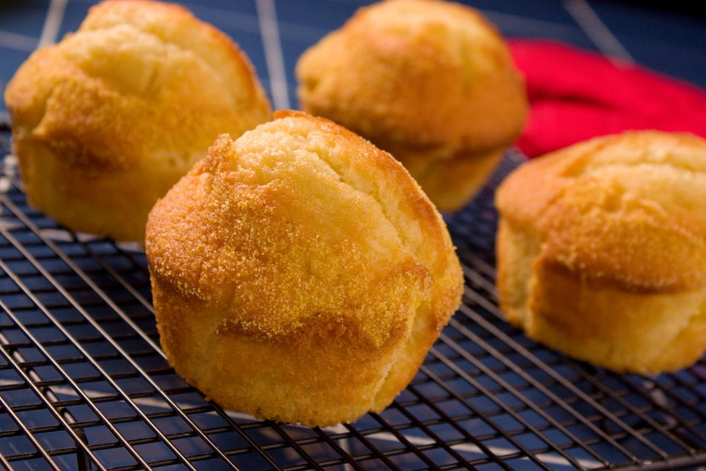 Old Time Cornbread Muffins