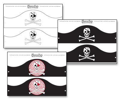 Как сделать пиратскую шляпу из картона