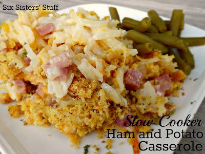 Slow Cooker Ham and Potato Casserole