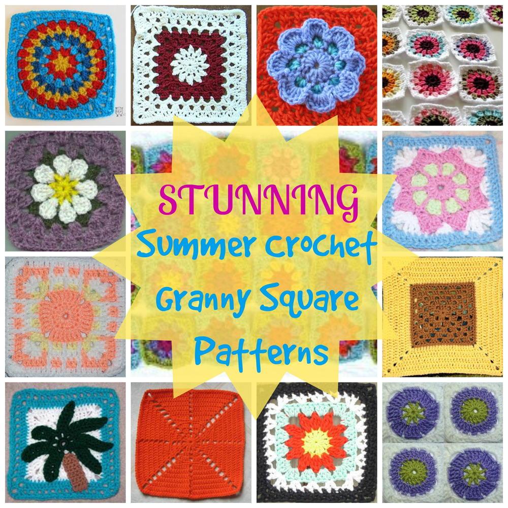 How To Crochet Granny Squares 28 Stunning Summer Crochet