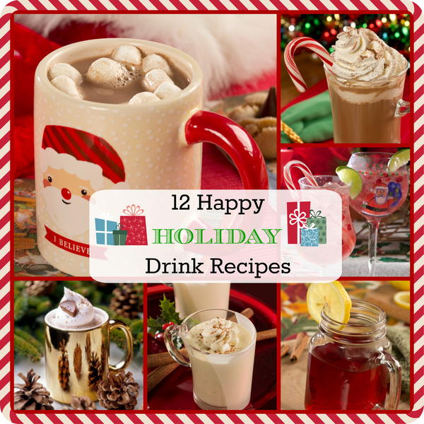 12 Happy Holiday Drink Recipes