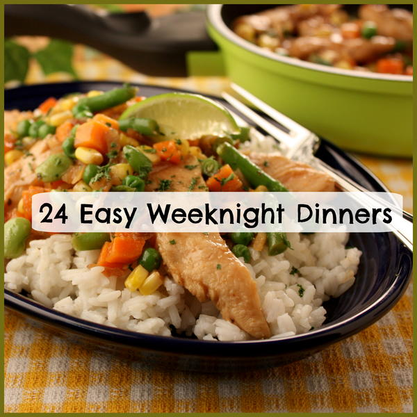 Easy weeknight meal recipes