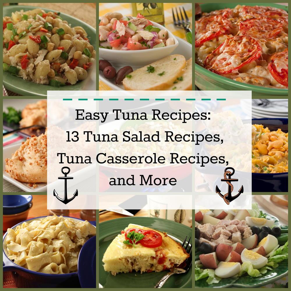 Easy tuna recipes 13 tuna salad recipes tuna casserole for Tuna fish recipes