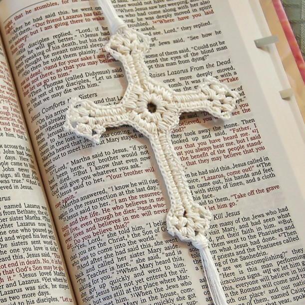 Simply Elegant Crochet Cross Allfreechristmascrafts Com