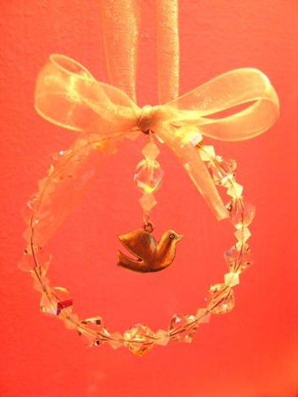 Dove Of Peace Christmas Decoration