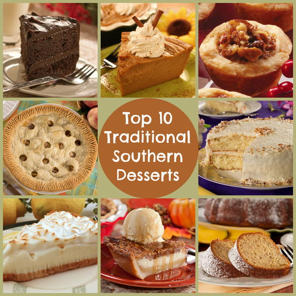 Top 10 traditional southern desserts for American cuisine desserts