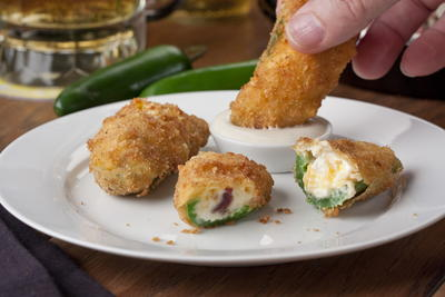 Loaded Jalapeno Poppers