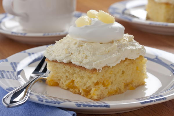 Pineapple cream cake recipe
