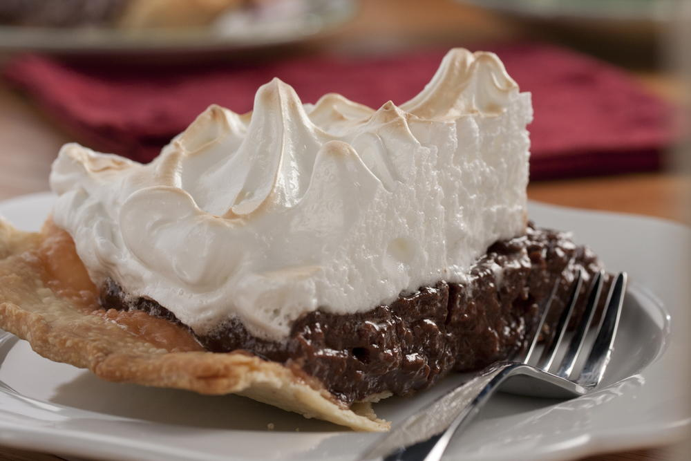 Chocolate Meringue Pie | MrFood.com