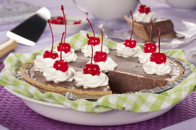 Chocolate Milkshake Pie