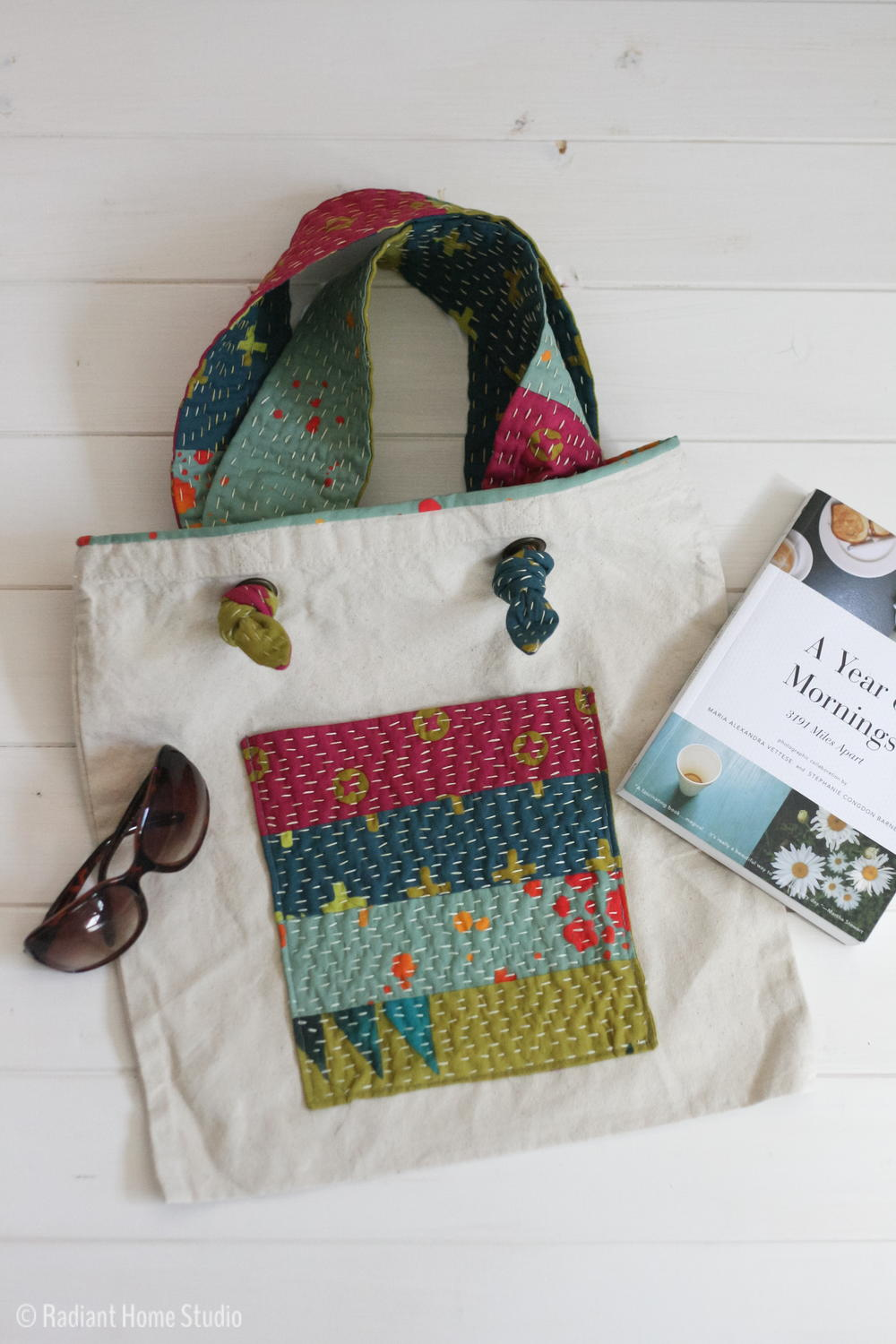 Kantha Inspired Tote Bag Tutorial Allfreesewing Com