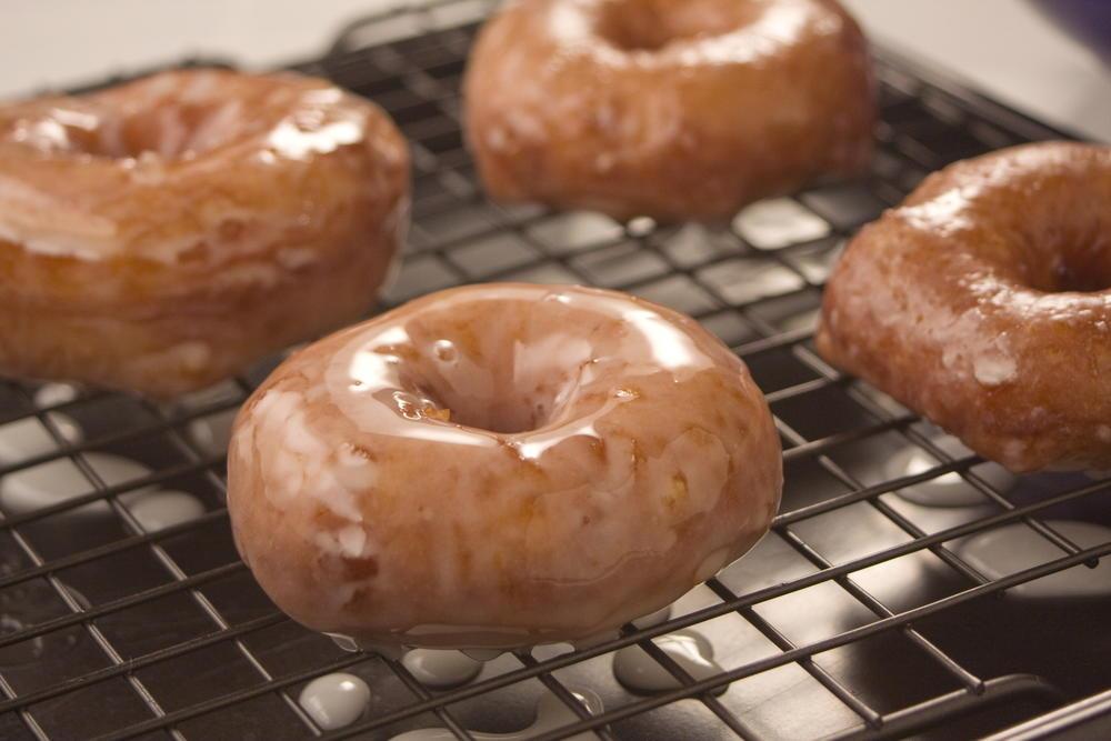 Homemade Glazed Doughnuts | MrFood.com