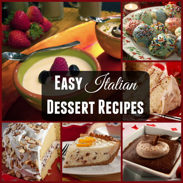 Easy italian desserts for a crowd?